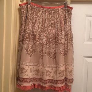 Limited layered skirt Size 10